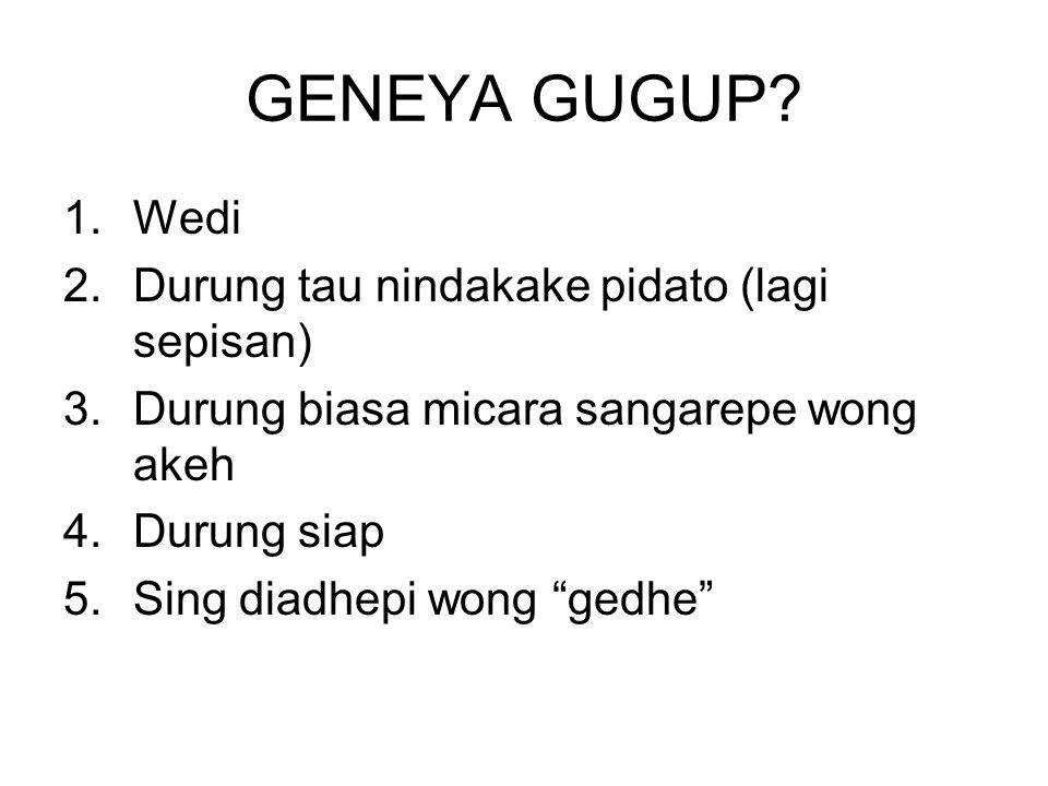 GENEYA GUGUP.
