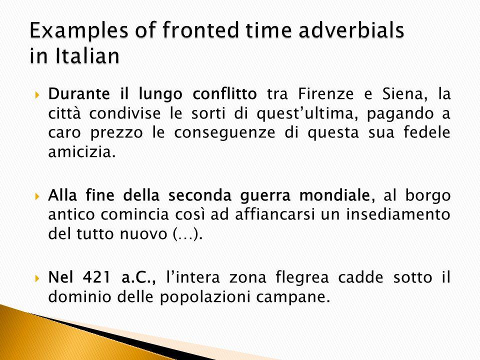  Durante il lungo conflitto tra Firenze e Siena, la città condivise le sorti di quest'ultima, pagando a caro prezzo le conseguenze di questa sua fedele amicizia.