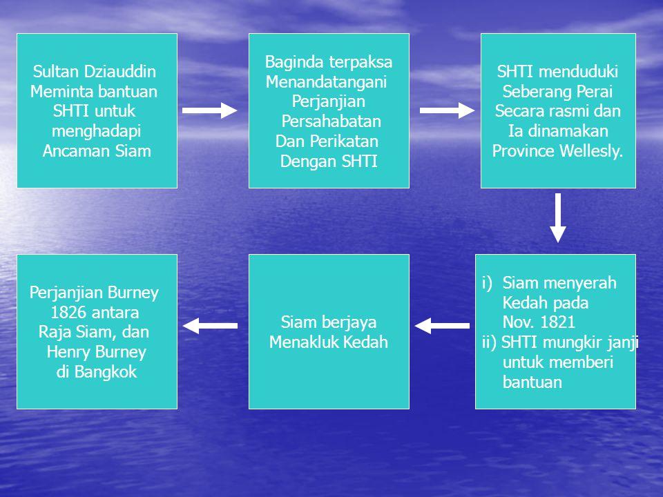 1.3 SHTI Mengambil Seberang Perai Kepentingan Seberang Perai Kepada SHTI Benteng Pertahanan Pulau Pinang Tanahnya subur sesuai untuk pertanian bagi me