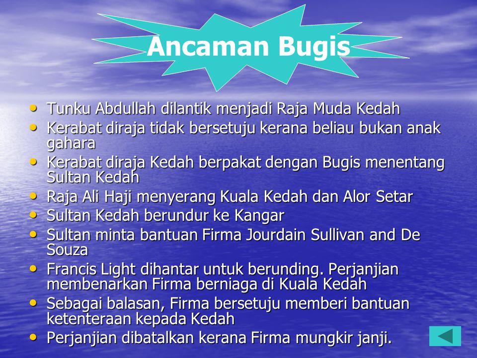 2.Perjanjian di atas telah mengiktiraf Tengku Hussein sebagai sultan Johor.