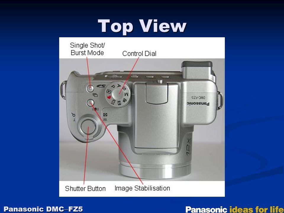 Top View Panasonic DMC  FZ5