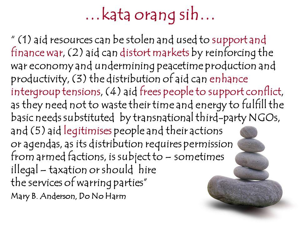 …kata orang sih… blocking vs bridging tell vs listen distort vs marshal/strengthen local resources office vs community organiser