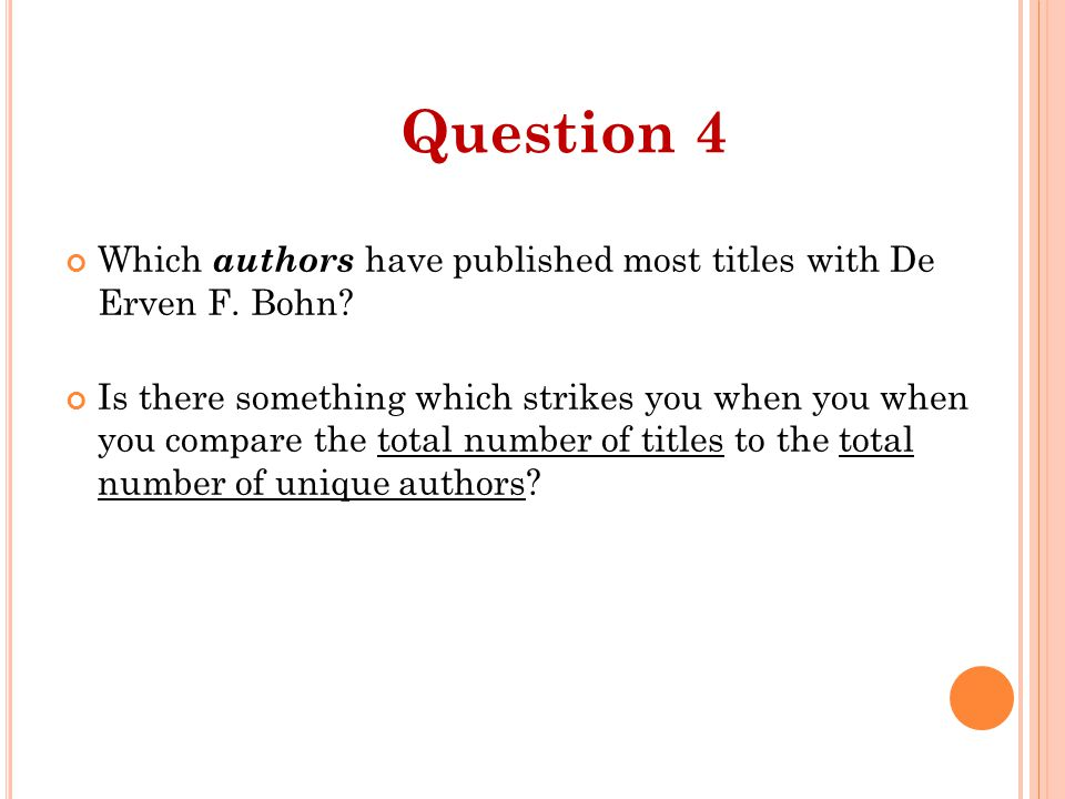 Which authors have published most titles with De Erven F.
