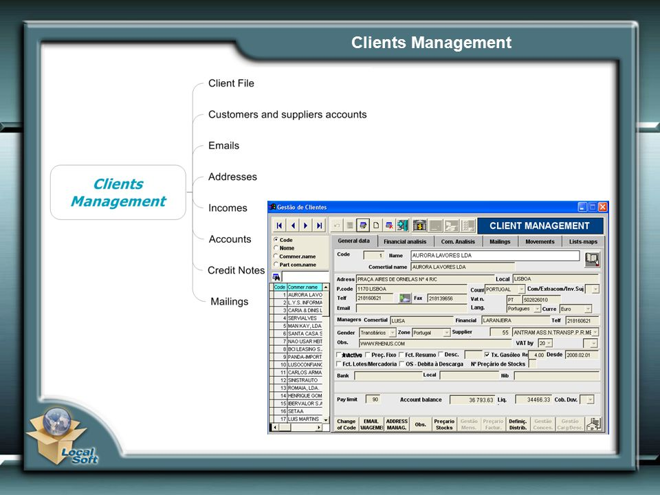 Clients Management