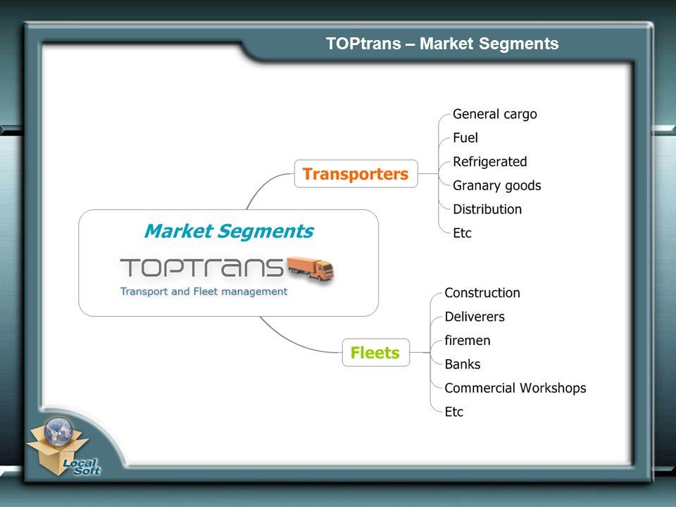 TOPtrans – Market Segments