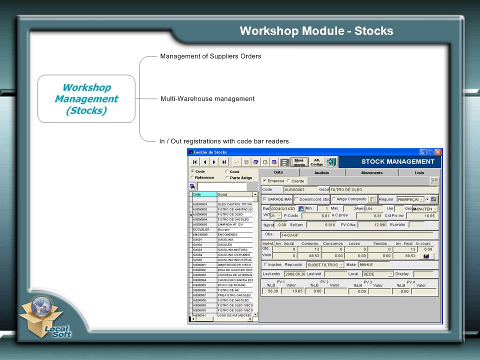 Workshop Module - Stocks