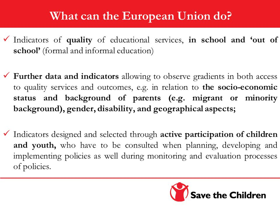 What can the European Union do.