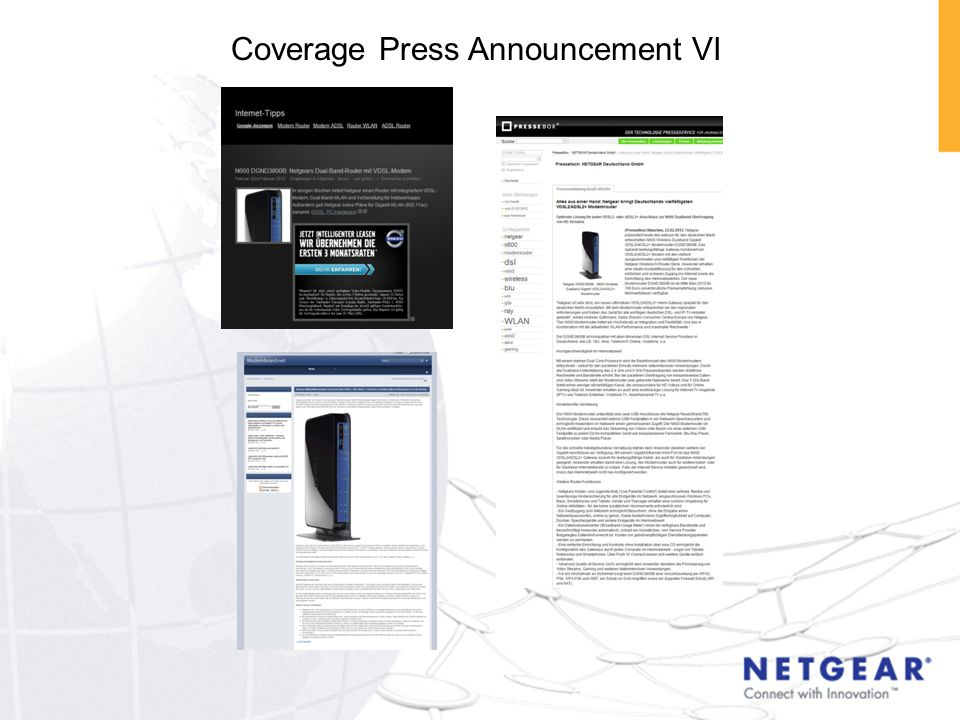 Coverage Press Announcement VI