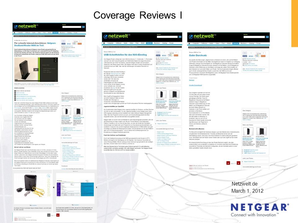Netzwelt.de March 1, 2012 Coverage Reviews I