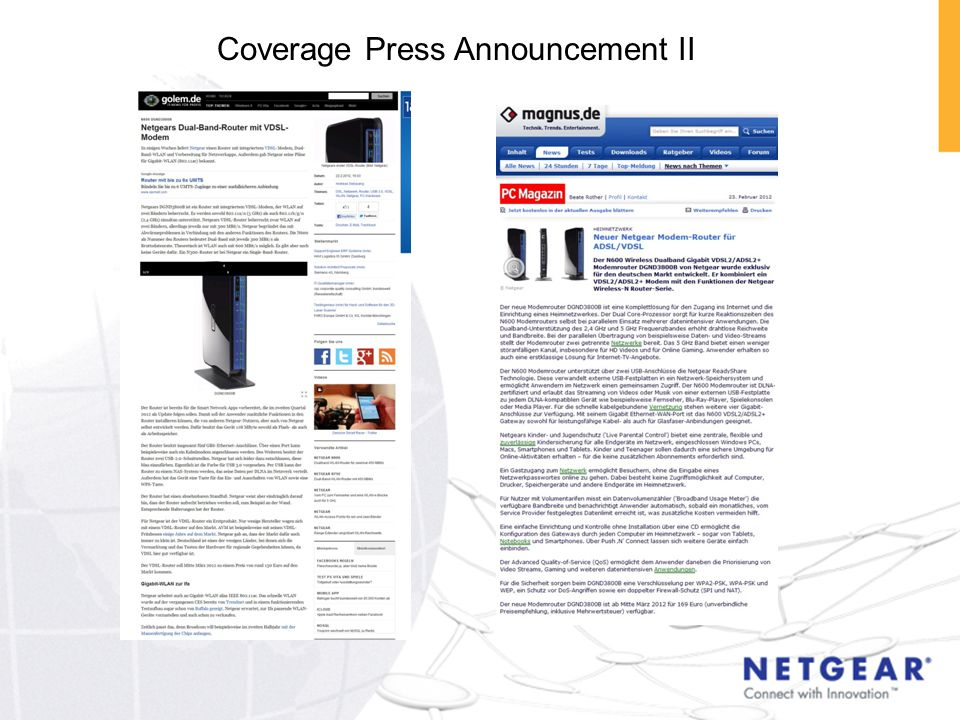 Coverage Press Announcement II
