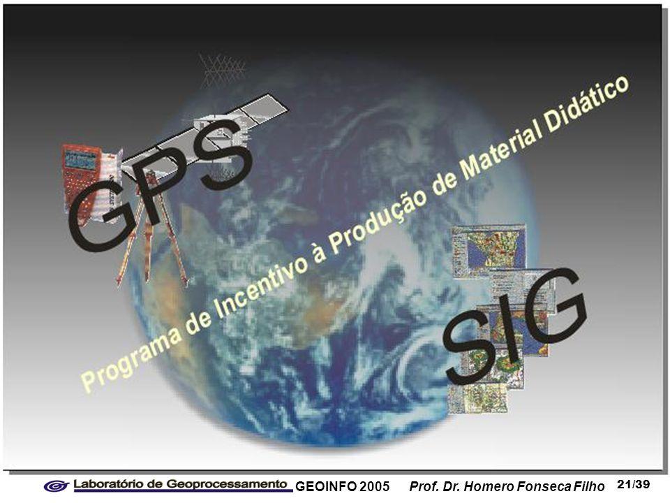GEOINFO 2005 Prof. Dr. Homero Fonseca Filho 21/39