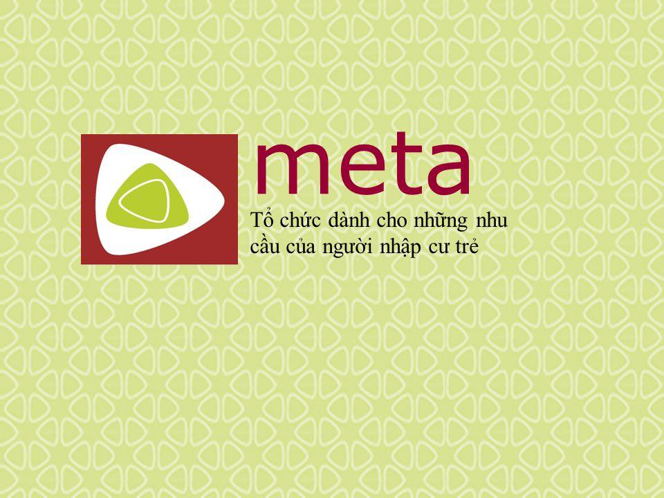 meta Tổ chức dành cho những nhu cầu của người nhập cư trẻ