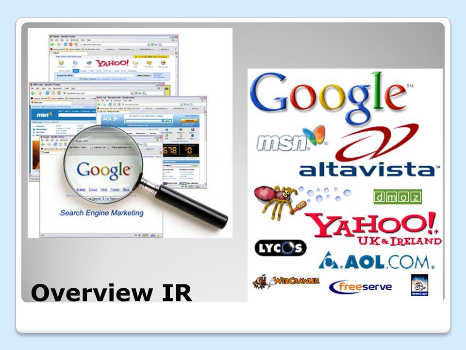 Overview IR