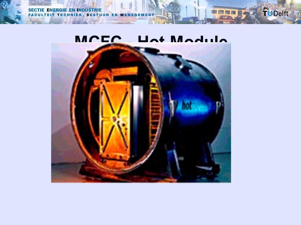 SECTIE ENERGIE EN INDUSTRIE MCFC - Hot Module
