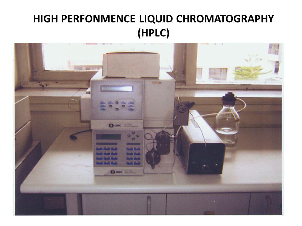 KEGUNAN GAS CHROMATOGRAPHY ýFID (flame Ionisasi Detector) UNTUK MENGANALISA ZAT-ZAT KIMIA YANG BERSIFAT MUDAH MENGUAP (VOLATILE ORGANIK COMPOUND) ýECD (Electron Cupture Detector) UNTUK MENGANALISA PESTISIDA ORGANOPHOSPHAT DAN PESTISIDA ORGANOCHLORINE ýTCD ( Thermal Conductivity Detector) ýFPD (Flame Photometric Detector)