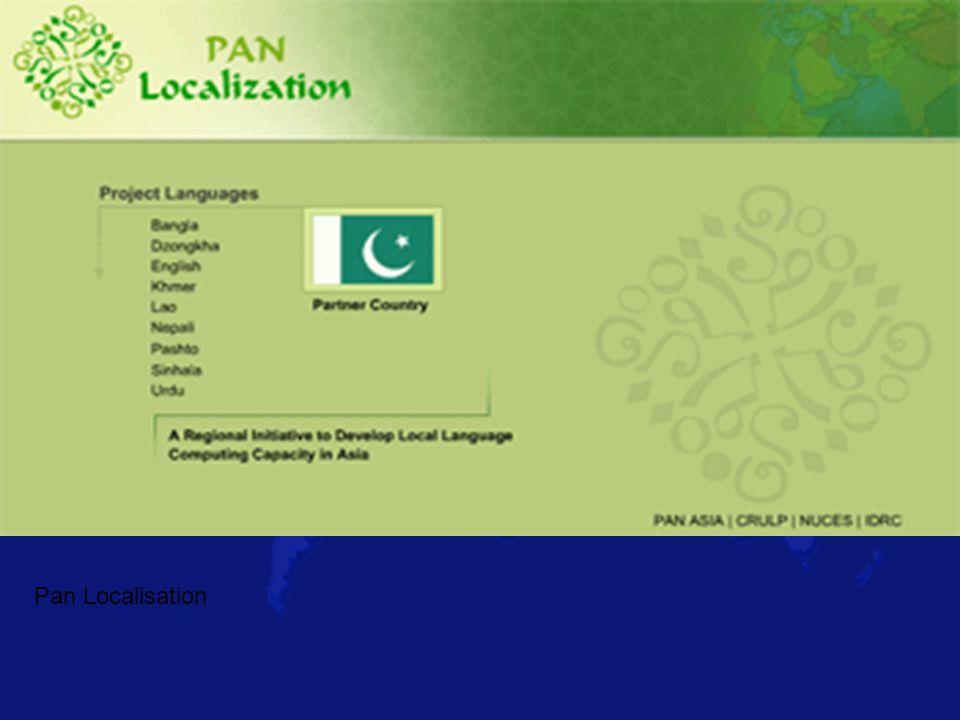 Pan Localisation