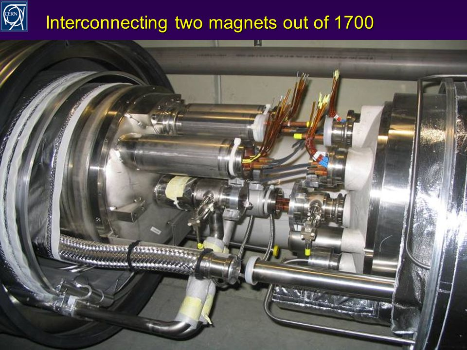 R.Schmidt - TU Darmstadt Januar 2008 11 Interconnecting two magnets out of 1700