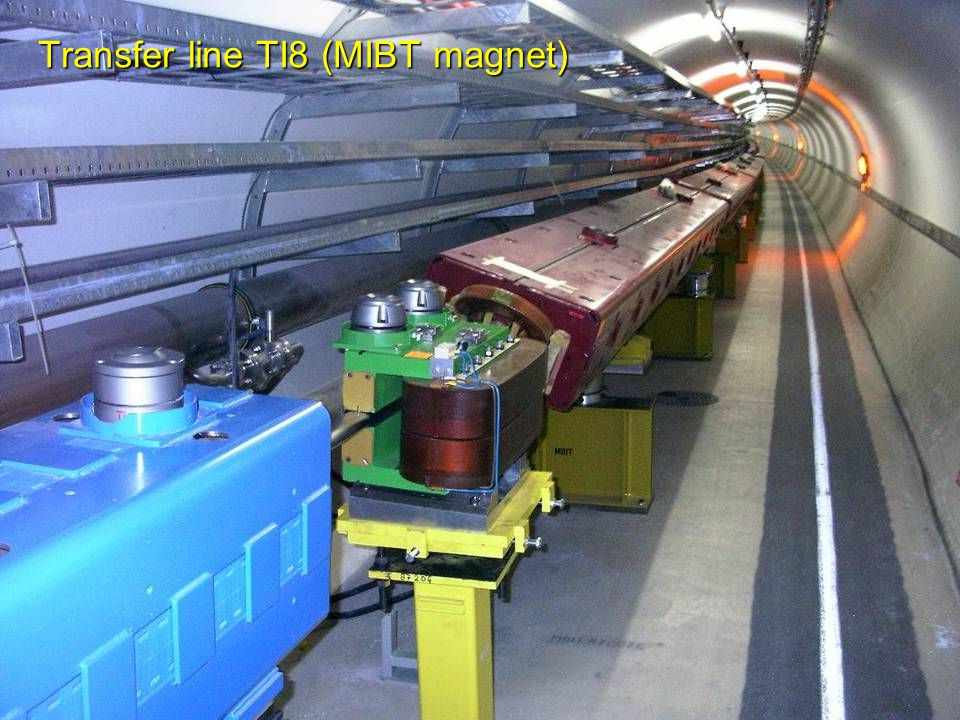 R.Schmidt - TU Darmstadt Januar 2008 29 Transfer line TI8 (MIBT magnet)