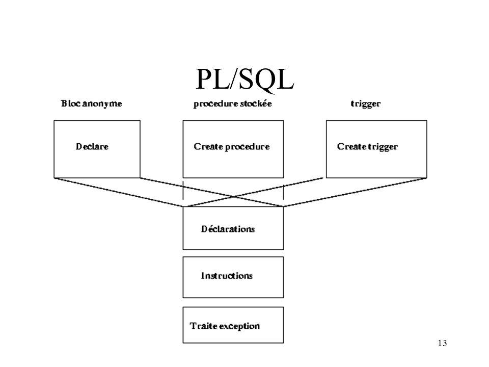 13 PL/SQL