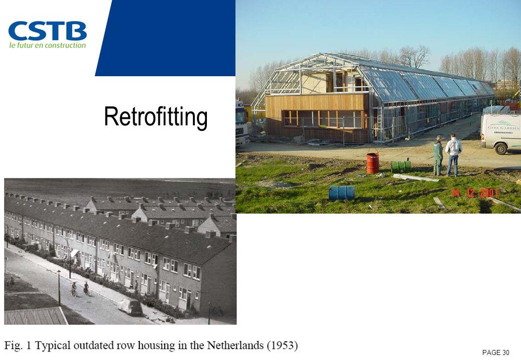 27.04.09 | DEPARTEMENT ENVELOPPE & REVETEMENTS | PAGE 30 Retrofitting