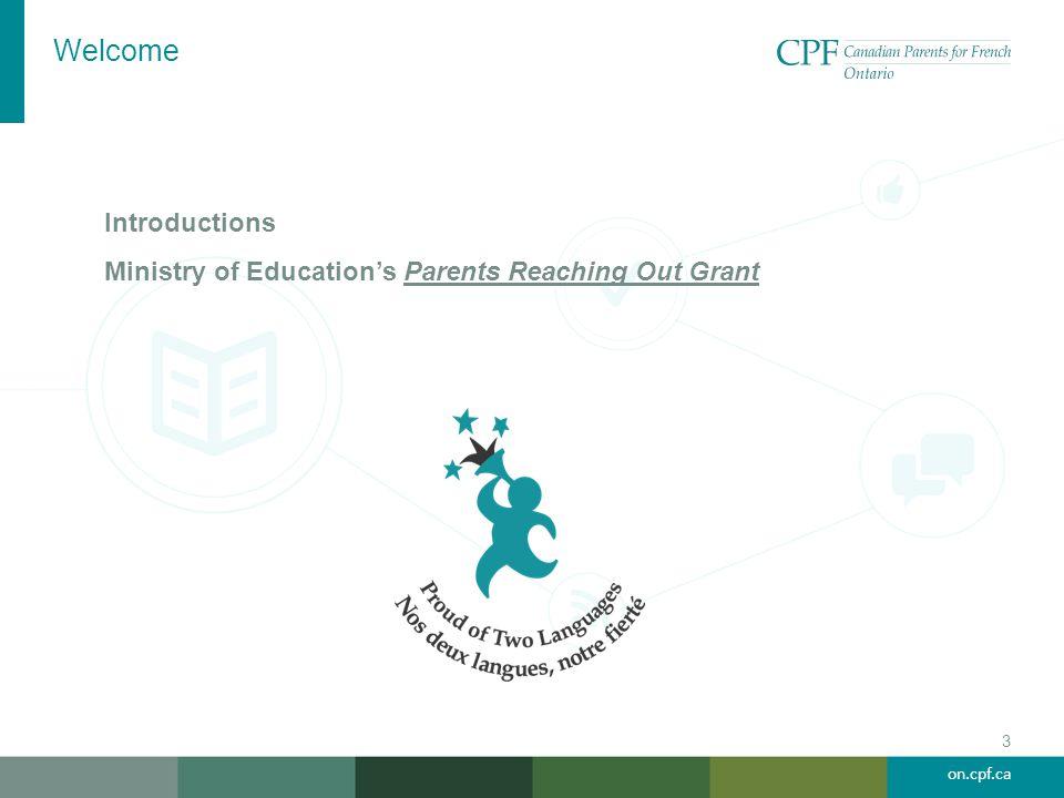 on.cpf.ca Pathways to Bilingual Success Betty Gormley