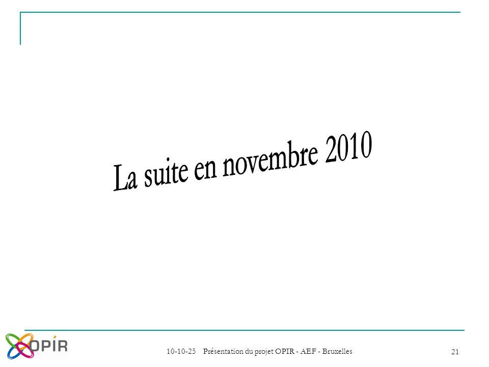 10-10-25 Présentation du projet OPIR - AEF - Bruxelles 21