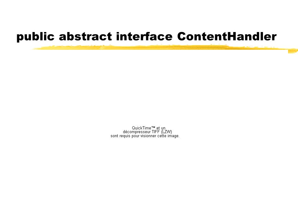 public abstract interface ContentHandler