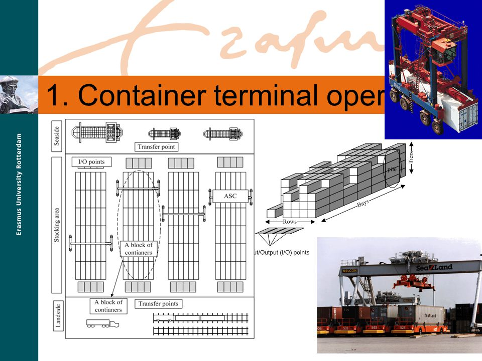 SmartPort 1. Container terminal operations