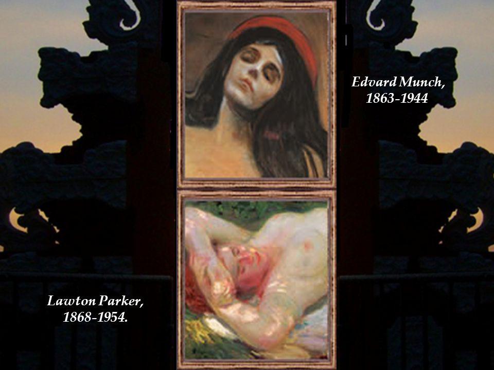 Frederick Mulhaupt, 1871-1938. Edouard Manet, 1832-1883.