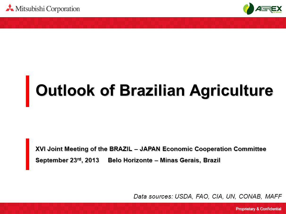 Proprietary & Confidential Agrex do Brasil (former Los Grobo Ceagro do Brasil ) 2 Mitsubishi Corporation has acquired a Brazilian grain company.