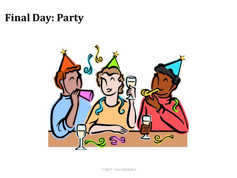 Final Day: Party TU DELFT - Team ZIERIKZEE 3