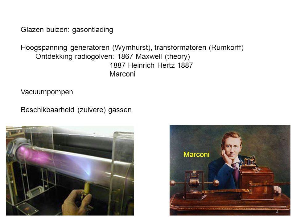 J.J. Thomson First accelerator: cathode ray tube 5