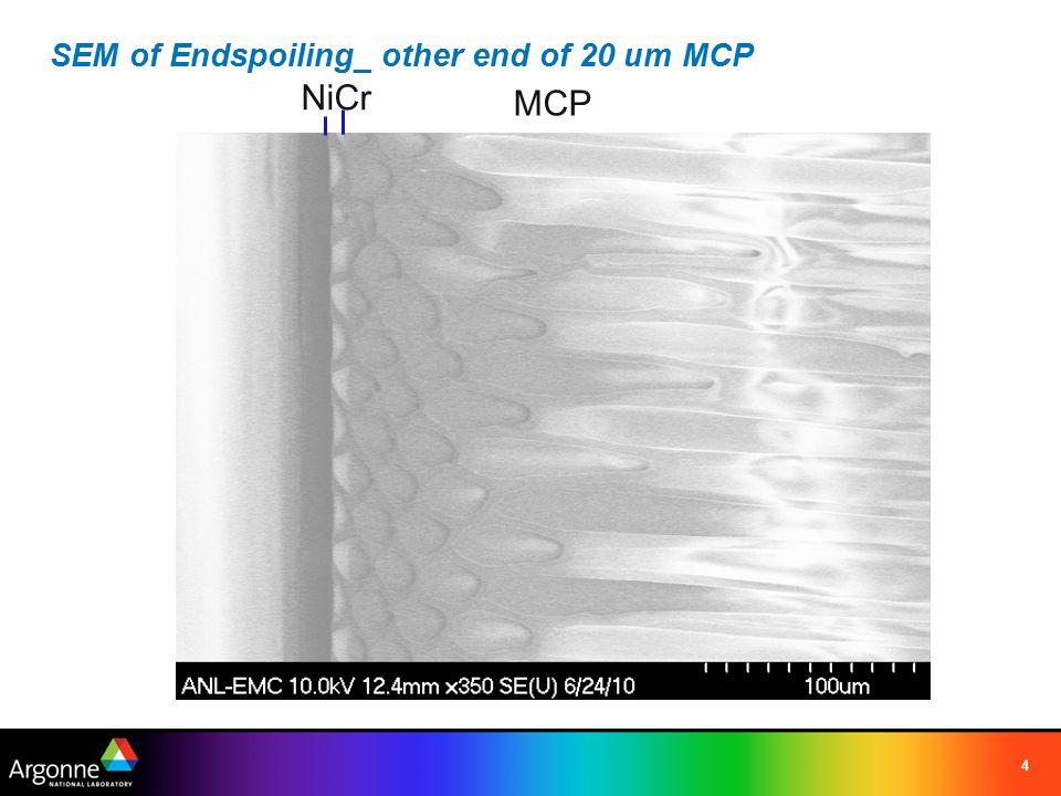 EDX of Endspoiling_ other end of 20 um MCP 5 NiCr Ni Al O NaSi
