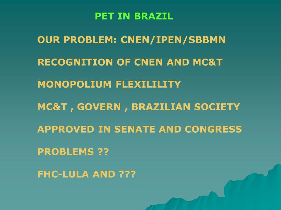 PET DEDICADO INCOR- 2003 DEDICATED PET