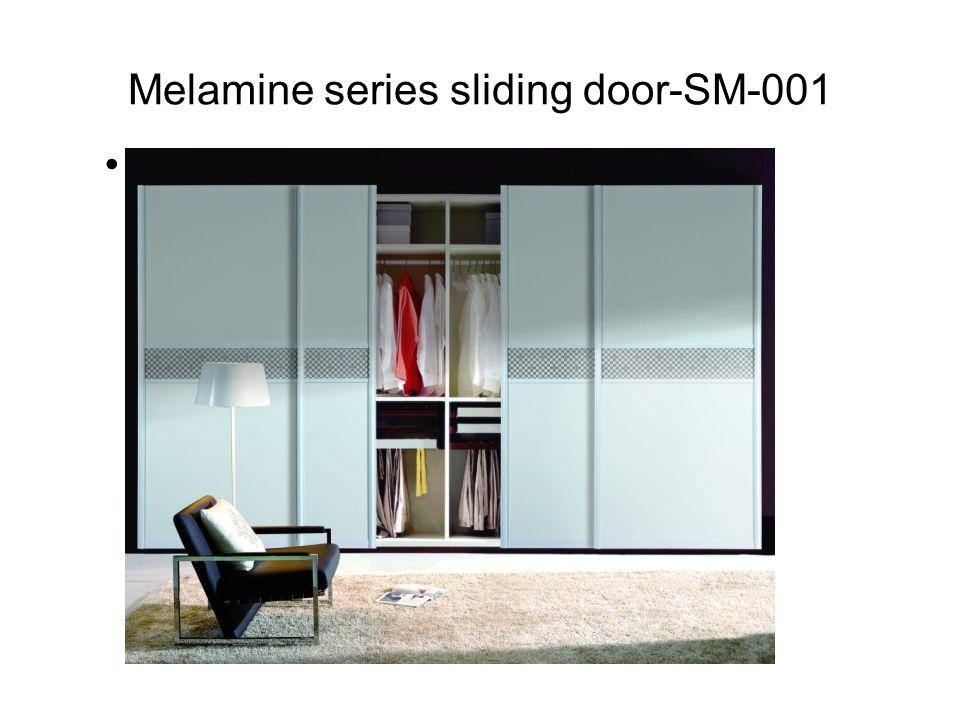 Melamine series sliding door-SM-001