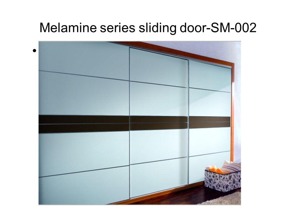 Melamine series sliding door-SM-002