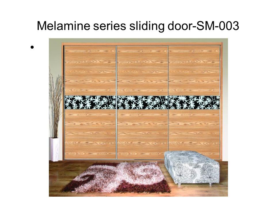 Melamine series sliding door-SM-003