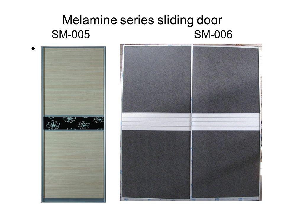 Melamine series sliding door SM-005 SM-006