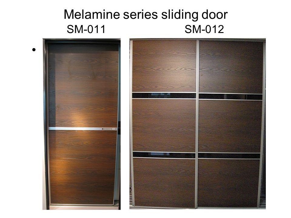 Melamine series sliding door SM-011 SM-012