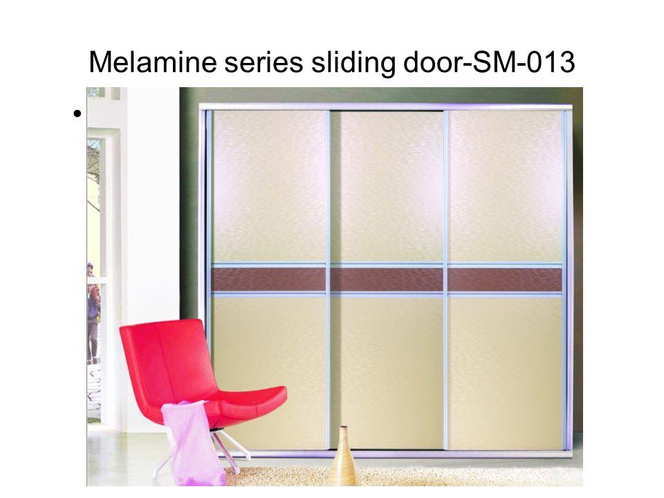 Melamine series sliding door-SM-013