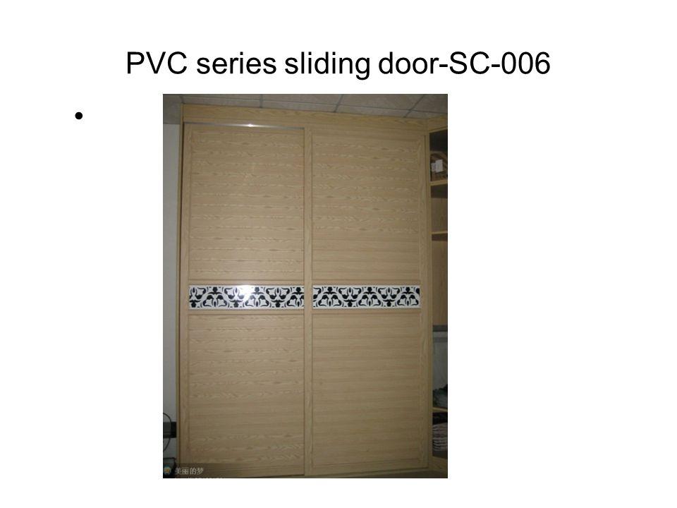 PVC series sliding door-SC-006