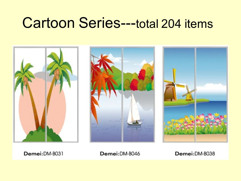Cartoon Series--- total 204 items