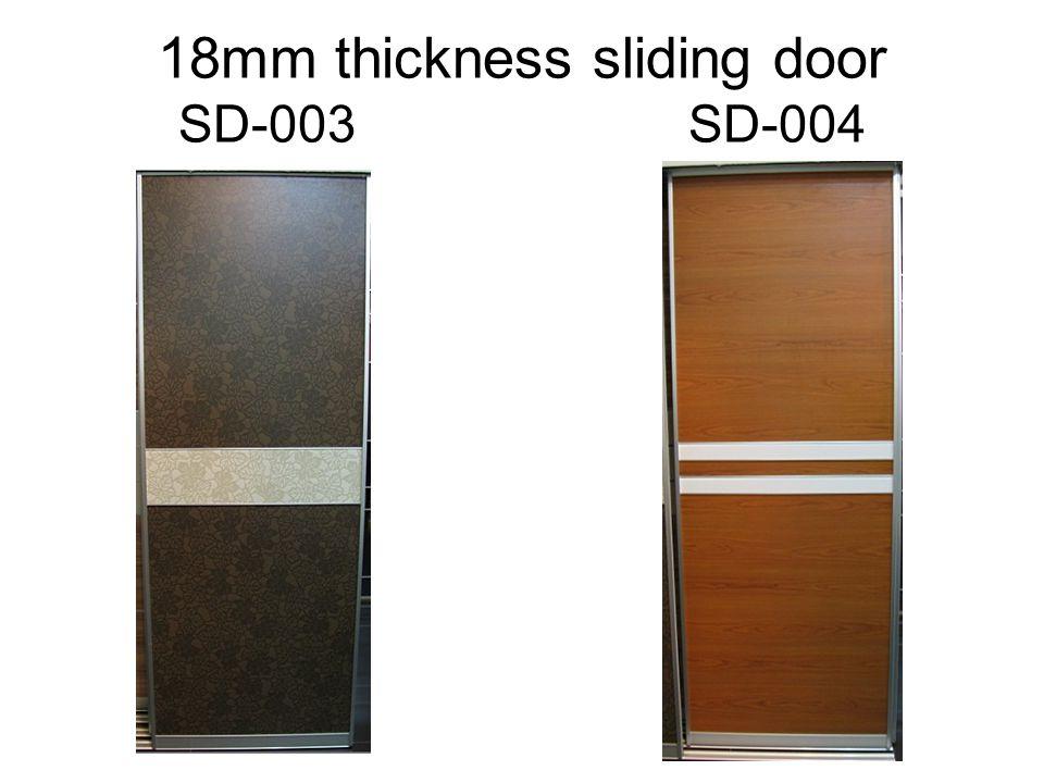 18mm thickness sliding door SD-003 SD-004