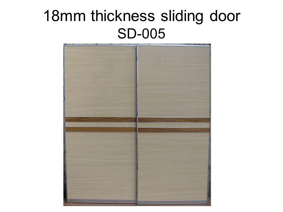 18mm thickness sliding door SD-005