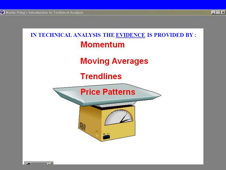 TAREK AMYUNITECHNICAL ANALYSIS23 IN TECHNICAL ANALYSIS THE EVIDENCE IS PROVIDED BY :