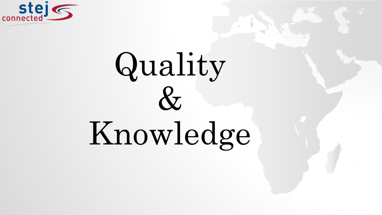 Quality & Knowledge