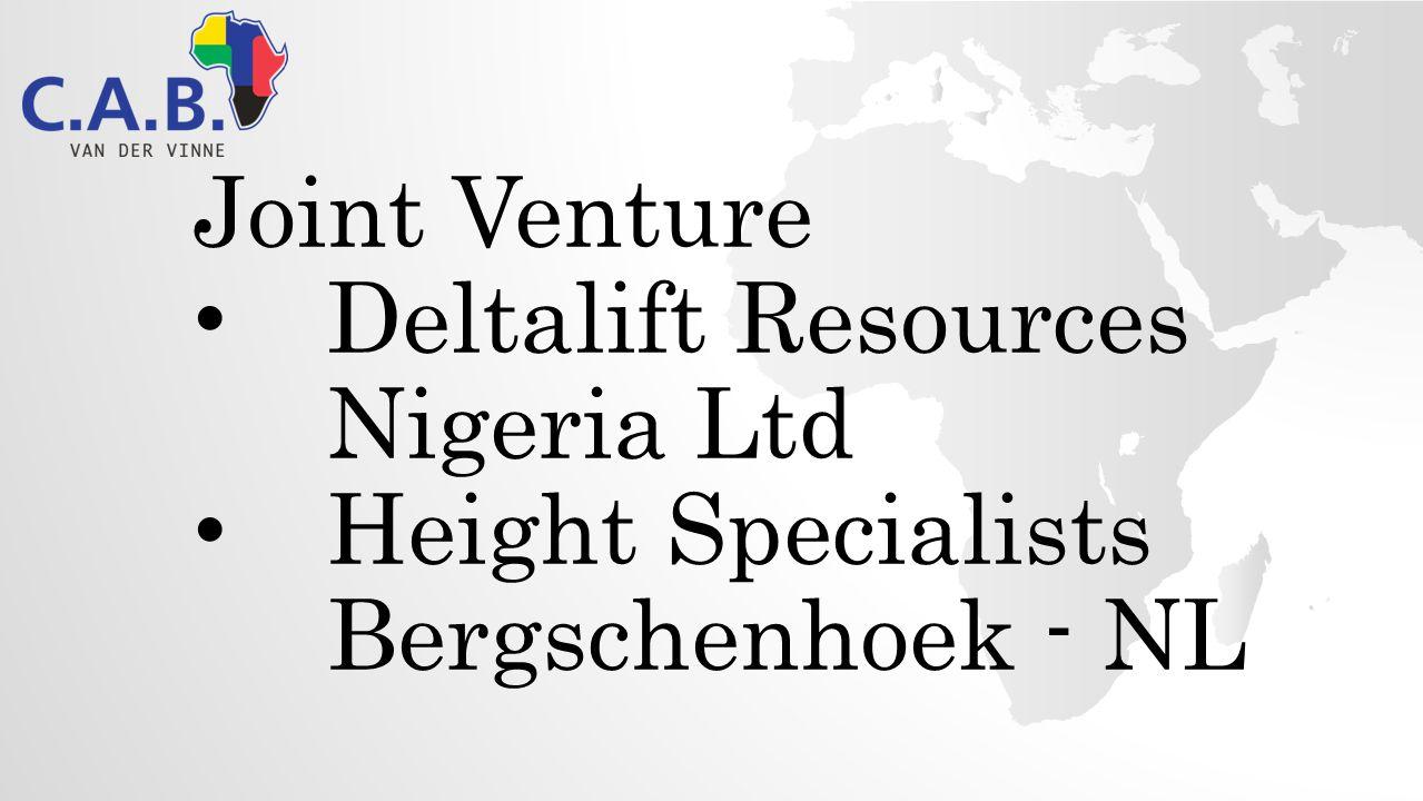 Joint Venture Deltalift Resources Nigeria Ltd Height Specialists Bergschenhoek - NL