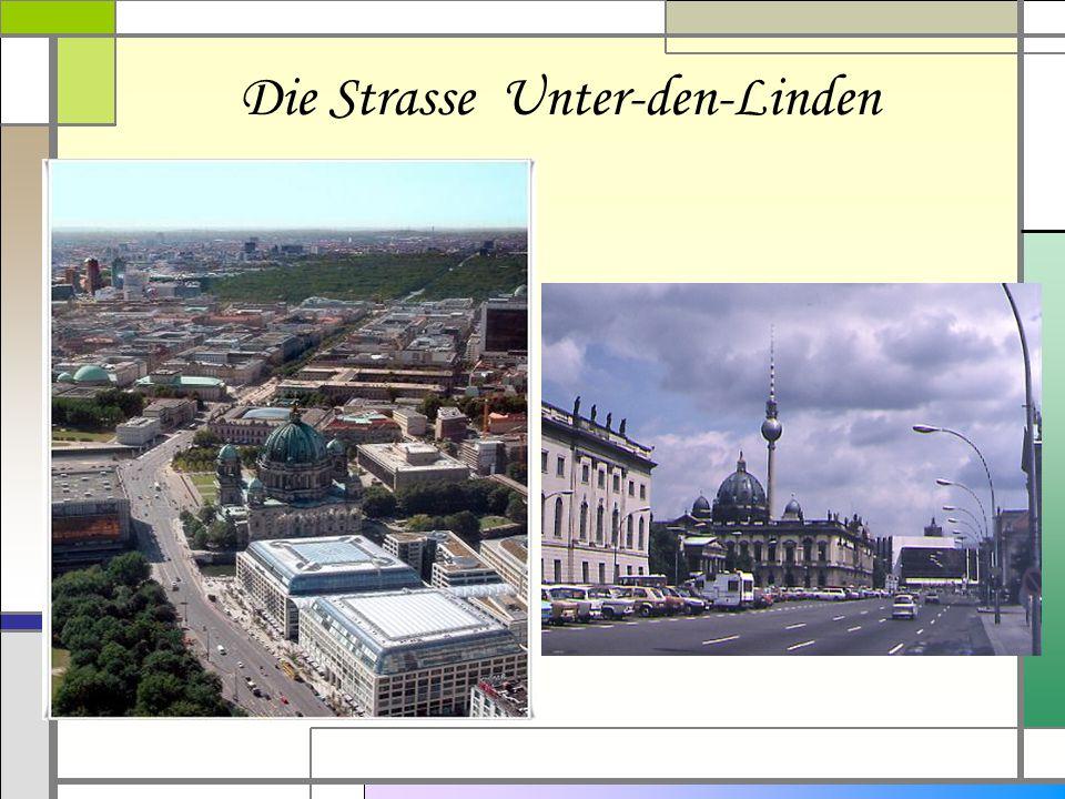 Die Strasse Unter-den-Linden