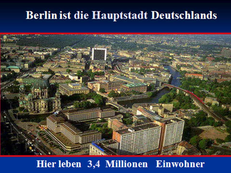 Berlin liegt im Osten deutschlands.