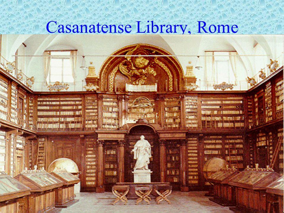 Casanatense Library, Rome